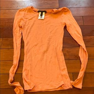 Bcbg maxazria xs top peach color